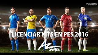 getlinkyoutube.com-PES 2016 | Tutorial insertar kits para equipos licenciados y no licenciados | MEGA