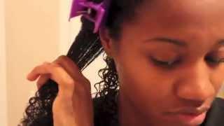 "getlinkyoutube.com-Define 3C/4A ""Natural Hair"" Curls using EcoStyler Gel   EiffelCurls"