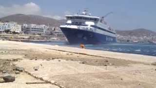 getlinkyoutube.com-blue star naxos Tinos 10 mpofor !!
