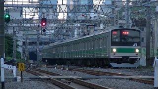 getlinkyoutube.com-池袋駅にて平日夕方の湘南新宿ラインと埼京線大宮方面