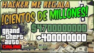 HACKER me regala 40.000.000 $ GTA 5 online