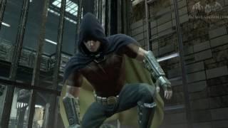 getlinkyoutube.com-Robin DLC (Black Mask Campaign) ALL MEDALS - Batman: Arkham City Riddler's Revenge