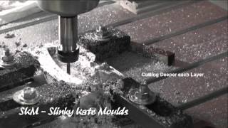 getlinkyoutube.com-3040 CNC router machining aluminium mould for fishing weight