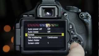 getlinkyoutube.com-Canon T3i 600D installing Magic Lantern - (Part1)
