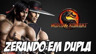 getlinkyoutube.com-Zerando em Dupla - Liu Kang e Kung Lao SHAOLIN MONKS