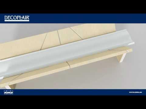 Colocar molduras en el techo