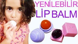getlinkyoutube.com-Yenilebilir Eos Lip Balm Yapımı | Dudak Koruyucu | Nasıl Yapılır | UmiKids