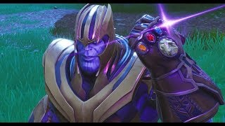Thor vs Thanos/Avengers Infinity War/FORTNITE