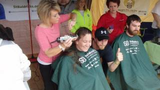 getlinkyoutube.com-St Baldricks head shaving