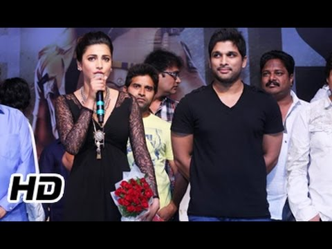 Race Gurram Movie || Success Meet 01 || Allu Arjun || Shruti Hassan