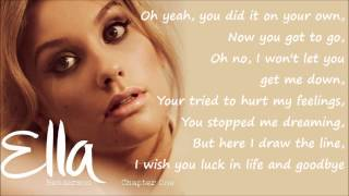getlinkyoutube.com-Ella Henderson - Missed (Official Studio Version) Lyrics on Screen [Full Length] New
