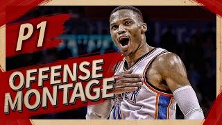 Russell Westbrook UNREAL Offense Highlights Montage 2016/2017 (Part 1) - NOT HUMAN!