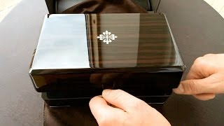 getlinkyoutube.com-Unboxing - Patek Philippe Nautilus 5990/1A-001!