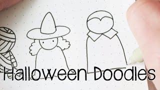 getlinkyoutube.com-Doodle with Me : Halloween Doodles