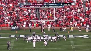 getlinkyoutube.com-2011 Iron Bowl - #2 Alabama vs. #24 Auburn (HD)