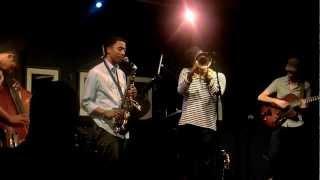 getlinkyoutube.com-Christian Scott Quintet Live (Isadora) - Jazz at the Bistro
