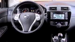 getlinkyoutube.com-Nissan Pulsar in White - Interior Design | AutoMotoTV Deutsch