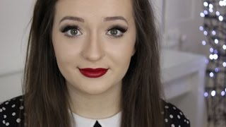 getlinkyoutube.com-Affordable & Glamorous Red Lip // Tutorial
