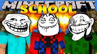 getlinkyoutube.com-Minecraft School : HOW TO TROLL YOUR FRIENDS!
