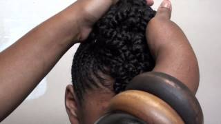 getlinkyoutube.com-Mae's Braided Updo by Stylist April B [Atlanta, GA]