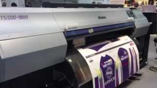 Mimaki TS500 at Viscom Italy 2012