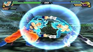 getlinkyoutube.com-Goku SSJ4 God and Vegeta SSJ4 God Fusion | Gogeta SSJ4 God DBZ Tenkaichi 3 (MOD)