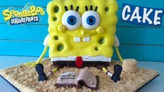 getlinkyoutube.com-Spongebob Out of Water Movie Cake HOW TO COOK THAT Ann Reardon