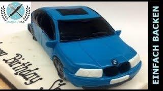 getlinkyoutube.com-Auto Torte 3D | Car cake | mit Anleitung und Rezept | einfachBacken Schweiz