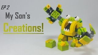 getlinkyoutube.com-My 5 y.o. Son's Lego creations | EP 2