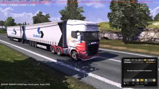 getlinkyoutube.com-ETS2 - Double trailer