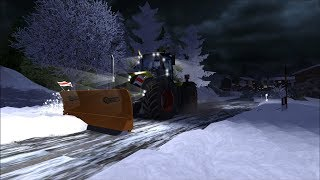 Farming Simulator 2013: Snow Map & Removal (Claas Xerion 5000)