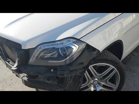 Покраска Mercedes-Benz GL W166