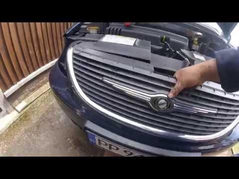 Как снять передний бампер chrysler dodge