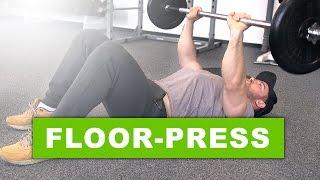 getlinkyoutube.com-Floorpress - Training für Brust und Trizeps