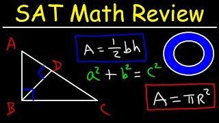 SAT Math Test Prep Online Crash Course Algebra & Geometry Study Guide Review, Functions, Ratios,