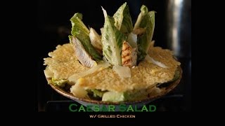 getlinkyoutube.com-Caesar Salad w/ Grilled Chicken - Bruno Albouze - THE REAL DEAL