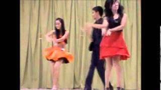 Practical Exam in P.E (performing the four forms of dances: swing,chaha,tango,boogie)