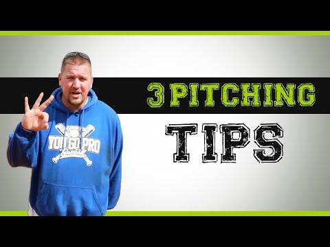 3 Baseball Pitching Tips