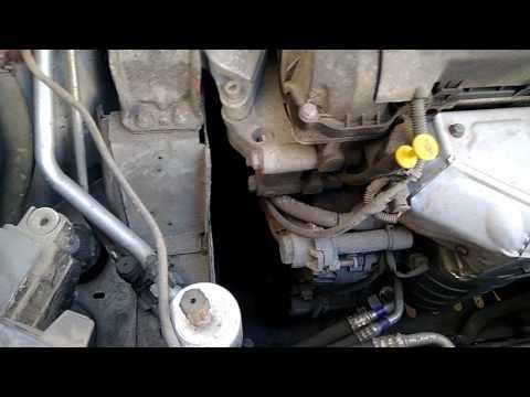 Citroen C4 B7 износ ремня навесного оборудования