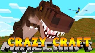 Minecraft Crazy Craft 3.0 : DANGEROUS DINOSAUR WORLD #23