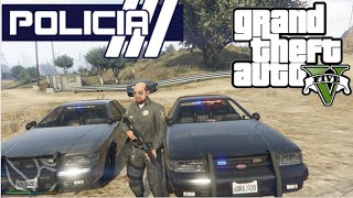getlinkyoutube.com-GTA V - PoliceMod 1.0c: Patrulha viatura descaracterizada #5