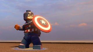 getlinkyoutube.com-LEGO Marvel's Avengers - Captain America | Free Roam Gameplay [HD 1080p]