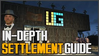 getlinkyoutube.com-Fallout 4: How to Build Settlements Guide [Advanced Tutorial - Power, Setting Traps, Everything]
