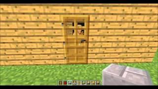 getlinkyoutube.com-Minecraft Gizli Oda Gizli Sandık Yapımı