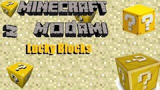 getlinkyoutube.com-Minecraft z modami #69 - Lucky Blocks - Szczęście czy pech?