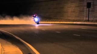Triumph Street Triple Stunt