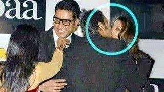 getlinkyoutube.com-Aishwarya Rai & Ajay Devgan's HOT KISS in PUBLIC -- SHOCKING