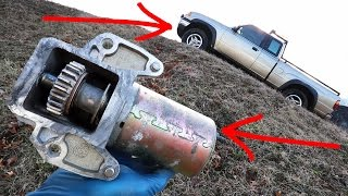 How to Diagnose and Replace a Starter