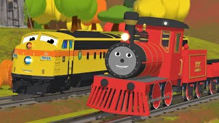 getlinkyoutube.com-Learn Numbers, Shapes, Colors and More with Shawn the Train | All Short Cartoons with Shawn