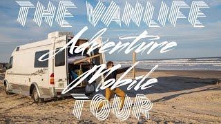 getlinkyoutube.com-The American ADVENTURE MOBILE Van Tour!